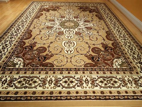 Orian Area Rugs Persian Style Rug 8x11 Rug Beige Brown Rug 5x8 Area Rug
