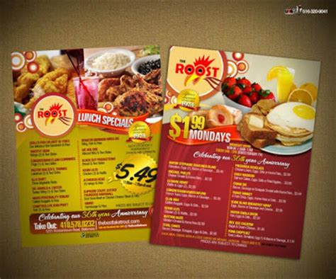desain daftar menu makanan corel contoh desain daftar menu belajar coreldraw