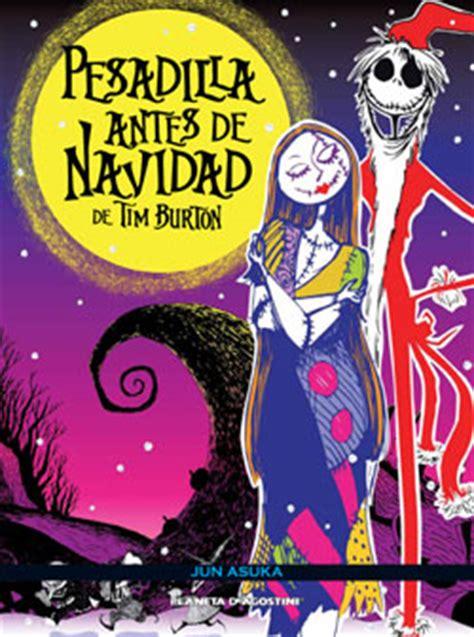 libro pesadilla antes de navidad pesadilla antes de navidad comic los libros de tim burton