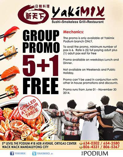yakimix 5 1 free promo unlipromo