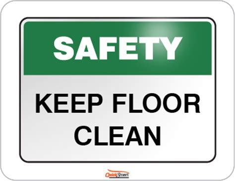 Keeps The Floor by Safety Signs A Gallery Of Safety Signs Australia