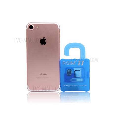 r sim 11 smart unlocking chip card for ios 10 7 iphone 7 6s 6 5s 5 tvc mall