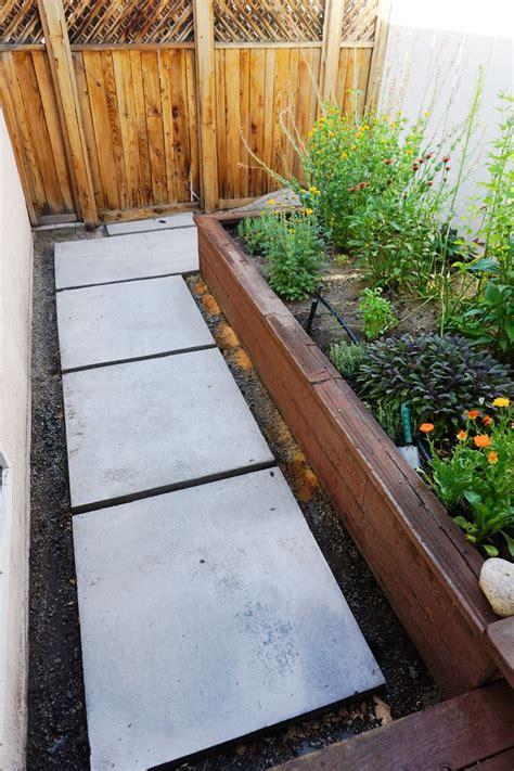 diy backyard paving lovely imperfection diy concrete pavers lovely
