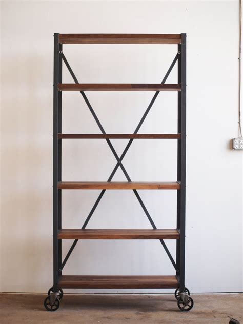 industrial bookshelves how to select and decorate with an industrial bookcase