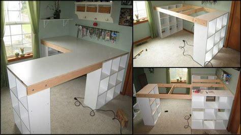 Craft Desk Diy How To Build A Custom Craft Desk