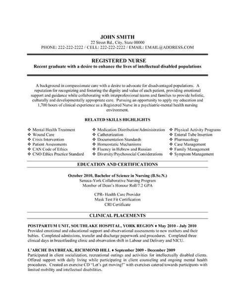 resume for nurses sample resume nurse template registered nurse