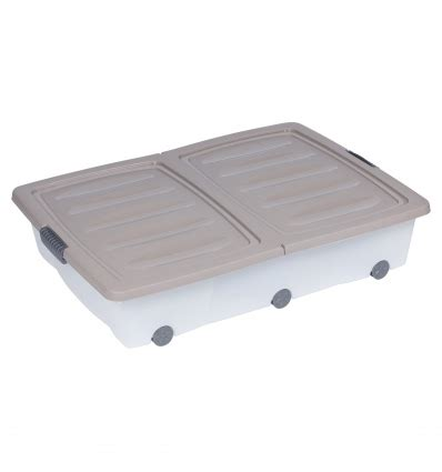 underbed storage box roller  split lid