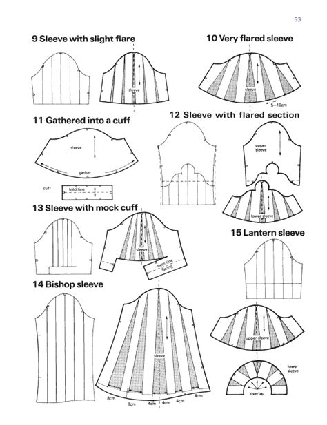 pattern making of sleeves how to make puffy sleeve pattern google search sewing