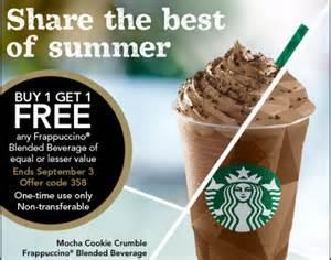online best buy deals black friday starbucks buy 1 get 1 free any frappuccino blended beverage