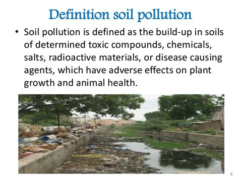 Landscape Pollution Definition Soil Pollution In Bangladesh