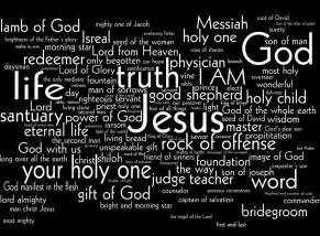 all the names of jesus bible resources