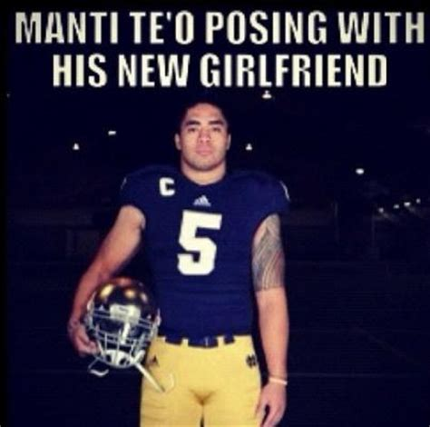 Manti Te O Meme - lennay kekua manti te o s fake girlfriend quot died quot one