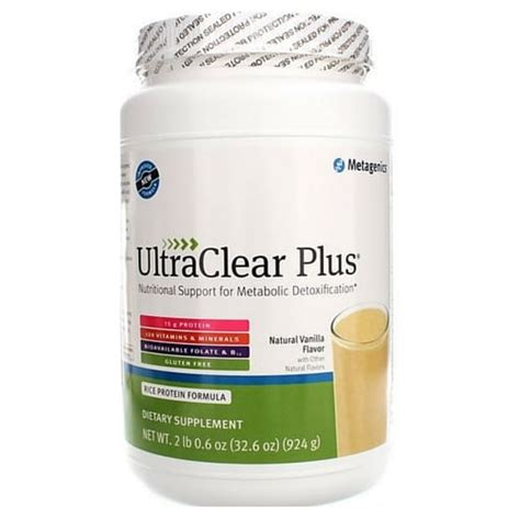Ultra Clear Plus Detox by Ultraclear Plus 924 Grams Health Store Vitamins