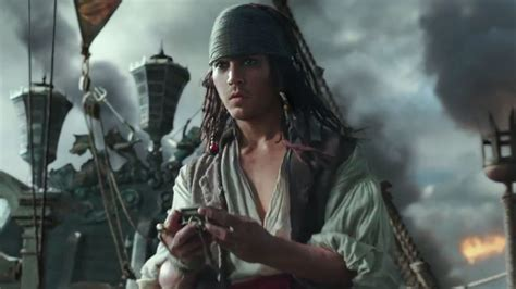 orlando bloom jack sparrow first reactions to pirates of the caribbean 5 at