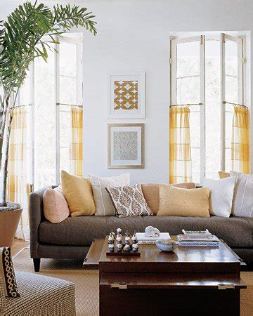 martha stewart living rooms abc s of decorating quot y is for the color yellow