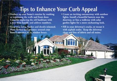 curb appeal realty may june postcards curb appeal tips