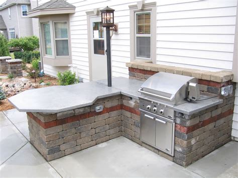 Backyard Grill Janesville Outdoor Kitchens Built In Grillsmuskego Wi