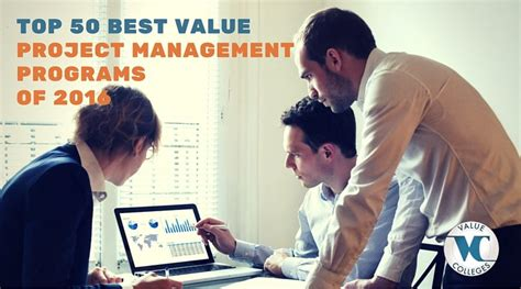 Of Wyoming Mba Placements by Ranking Of Top 50 Best Value Project Management
