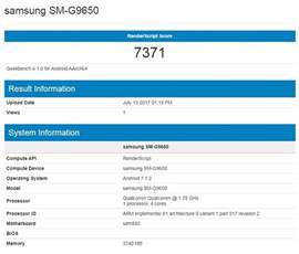 samsung smartphone hits geekbench equipped with snapdragon