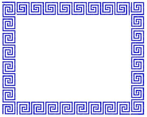 greek key pattern embroidery patterns embroidery design greek key frame 5