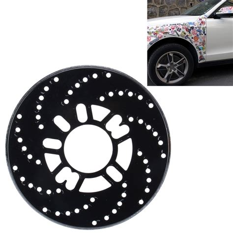 Decorative Wheel Covers by 2 Pcs Universal Aluminium Auto Car Wheel Disc Brake Racing