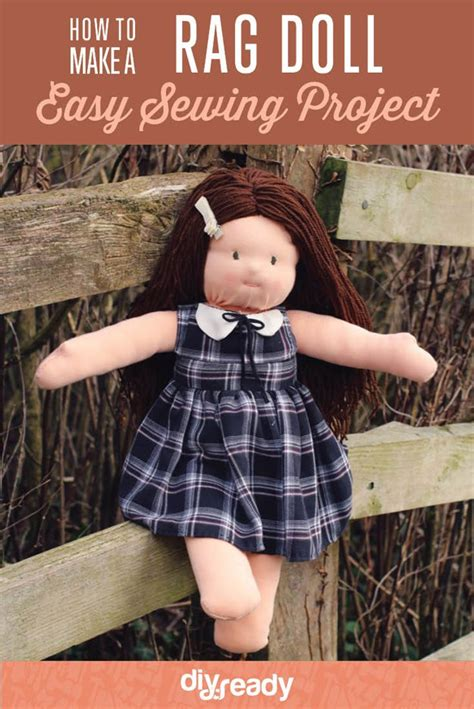 rag doll how to make how to make a rag doll sewing tutorial diy ready