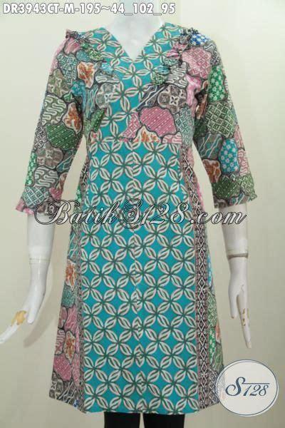 desain baju batik yang cantik jual dress batik terbaru dengan desain inovatif yang