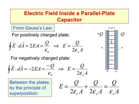 electric field capacitor distance intro to capacitors