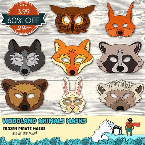 printable rainforest animal masks 93 template forest animals printable masks animal mask