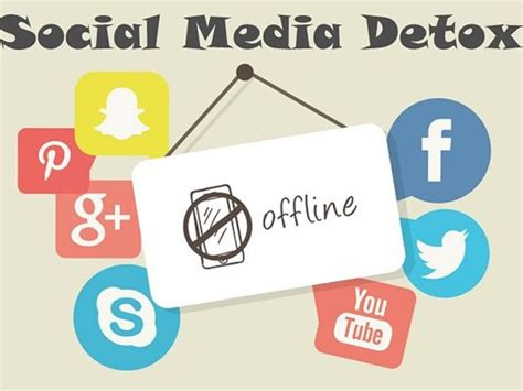 Inspiration Social Media Detox by Going Offline