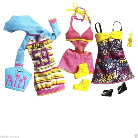 Dress Gioch fashionistas dress clothes accessories set toys ebay mu 241 ecas