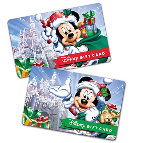 Can Disney Gift Cards Be Used At Disney World - disney parks give the gift of disney with new holiday disney gift cards