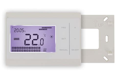 boiler room thermostat ebc 100 boiler wireless room thermostat with digital lcd screen daily weekly programmable touch