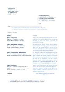 Lettre De Motivation De Facteur Facteur Exemple Cv Lettre Motivation Type Conseils Entretien Recrutement M 233 Tier Documentissime