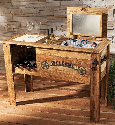 patio cooler plans woodwork how to build wood chest pdf plans