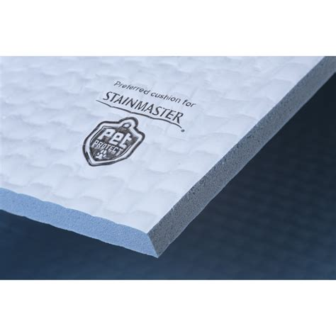 shop stainmaster 12 7 millimeters foam carpet padding at lowes com