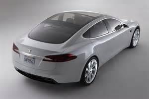 Tesla Model S Electric Car Cars Gto Tesla Model S Goes To Europe