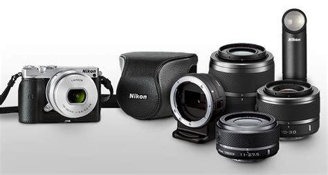 Nikon 1 J5 Single Lens 10 30mm Silver Nikon 1 J5 Pd Zoom Kit W 10 30mm Lens Silver