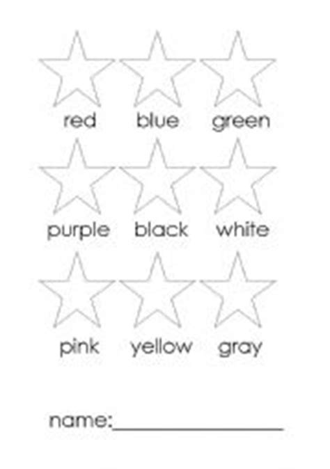 Colours Activity Learning Act Funlrn Col teaching worksheets colours