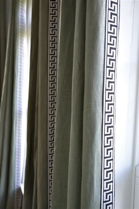 greek key curtains drapes 1000 ideas about green curtains on pinterest lime green
