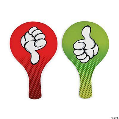 thumbs upthumbs  classroom paddles