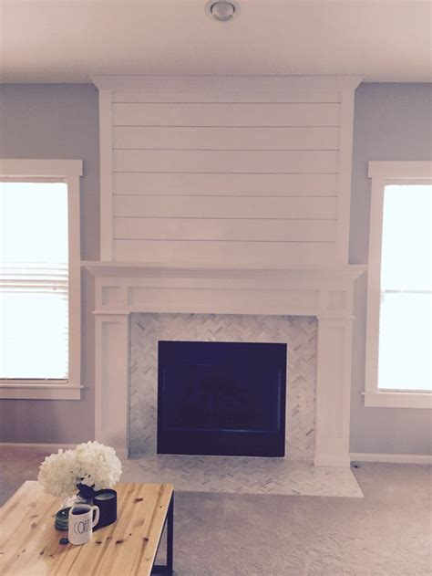 shiplap next to fireplace shiplap fireplace house of my dreams pinterest