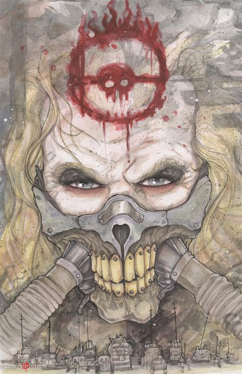 immortan joe mad max fury road by chrisozfulton on deviantart