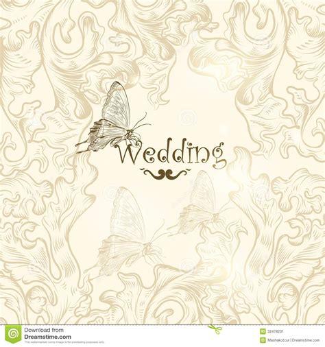design invitation wedding vector cute wedding background for design stock image image