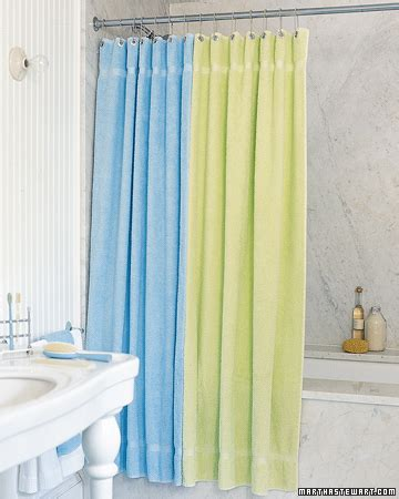 terry cloth shower curtain terry cloth curtain step by step diy craft how to s