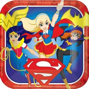 Superhero Wall Mural dc super hero girls party supplies product categories