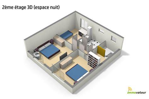 Plan Maison Simple 3 Chambres 3d by Ides De Plan De Maison Simple 3 Chambres En 3d Galerie Dimages