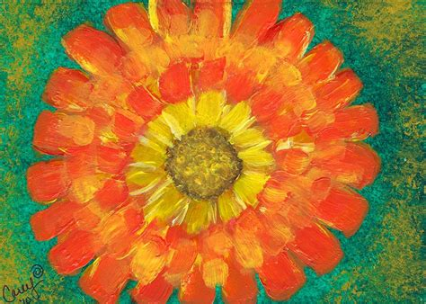 marigold paint ray of sunlight marigold by carey waters