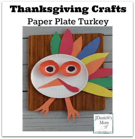 Thanksgiving Paper Crafts For - thanksgiving crafts paper plate turkey