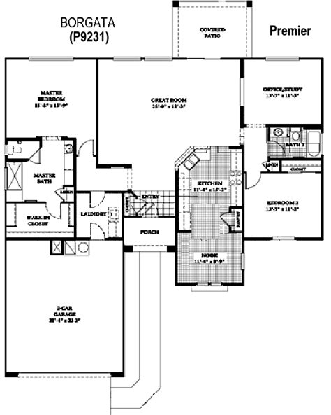 Borgata Floor Plan | sun city grand borgata floor plan del webb sun city grand